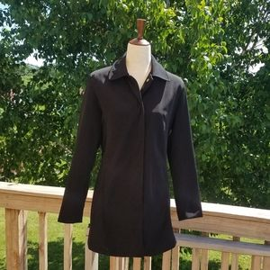 Merona Black Trench Coat